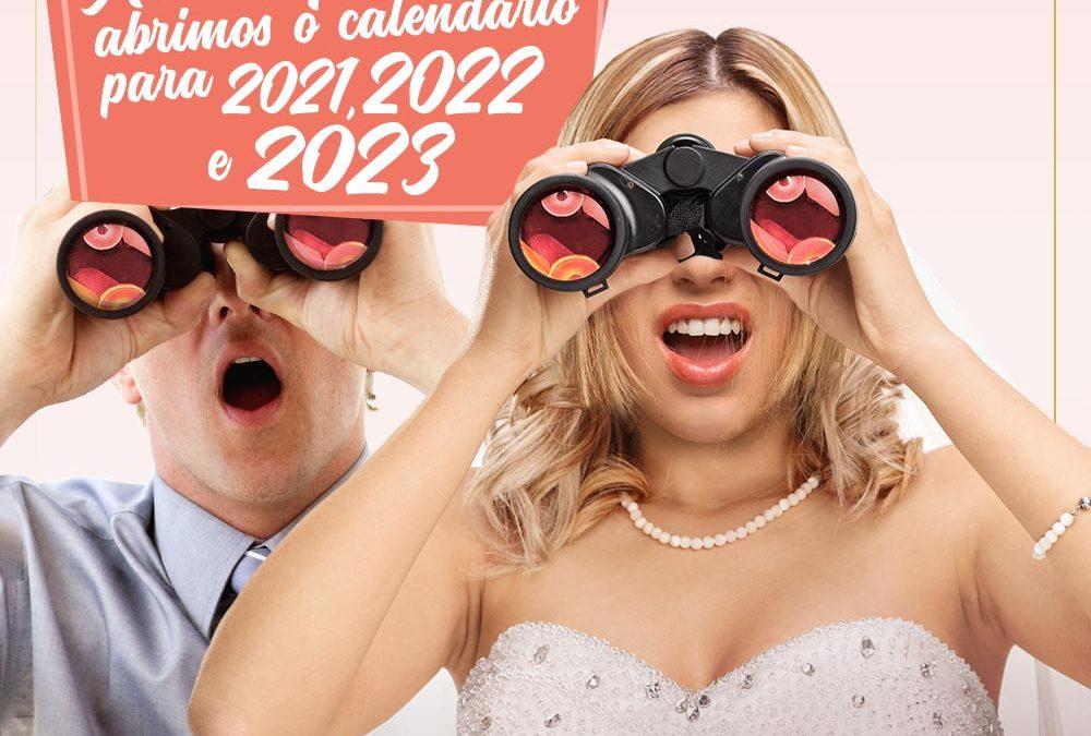 Abrimos o Calendário de 2020 a 2023! 2