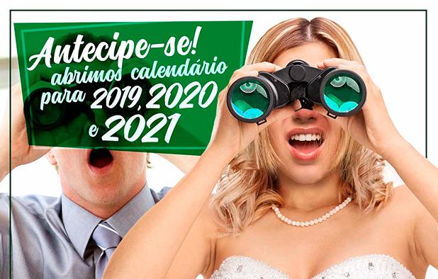 Abrimos Calendário de 2019 a 2021! 1