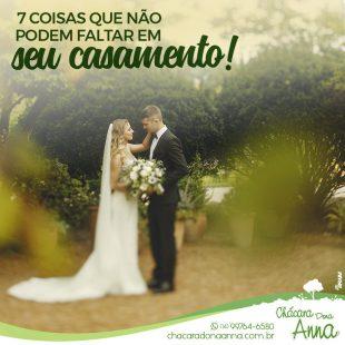 7 Coisas Que Não Podem Faltar Em Um Casamento 10