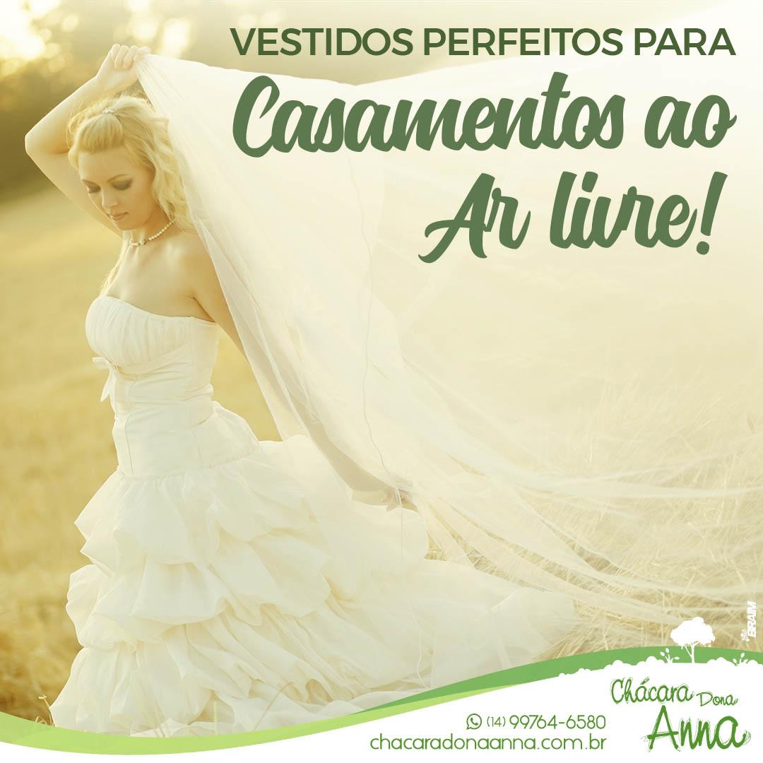Vestidos Perfeitos Para Casamentos ao Ar Livre 3