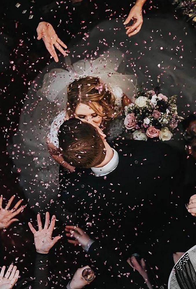 18 Ideias Criativas para Fotos de Casamento 17