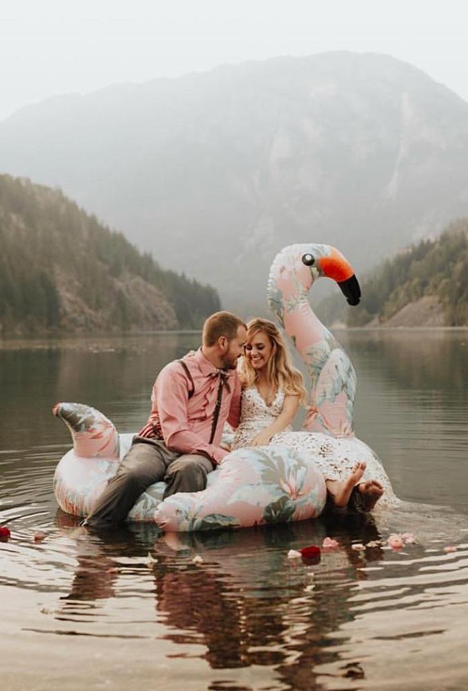 18 Ideias Criativas para Fotos de Casamento 8