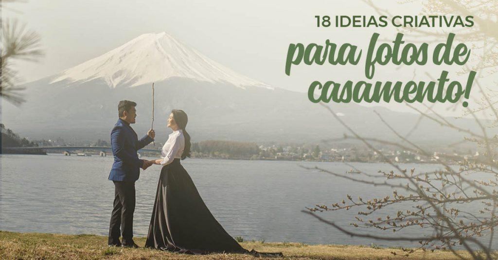 18 Ideias Criativas para Fotos de Casamento 3
