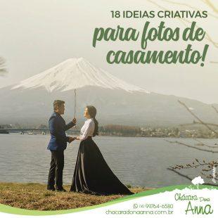 18 Ideias Criativas para Fotos de Casamento 11
