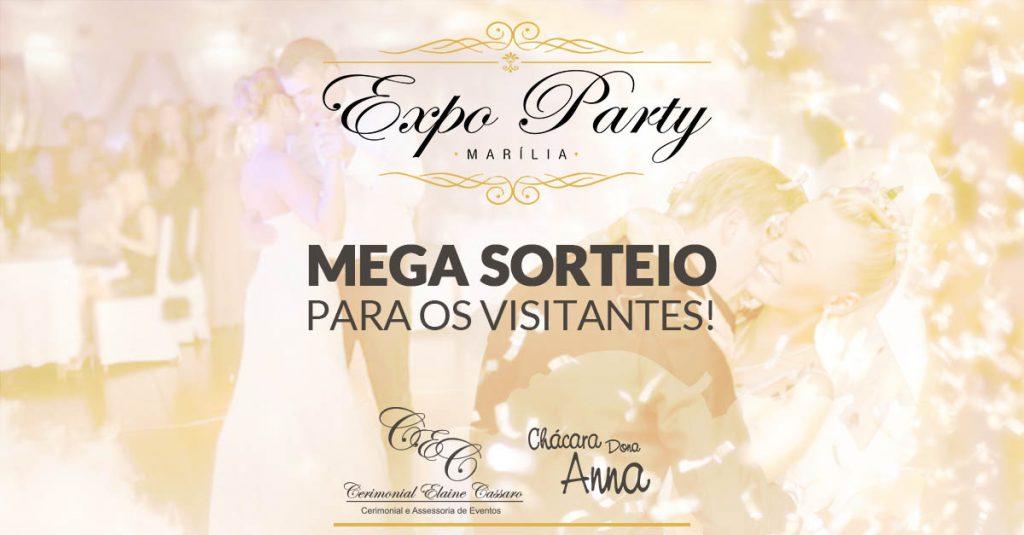 Sorteio Expo Party