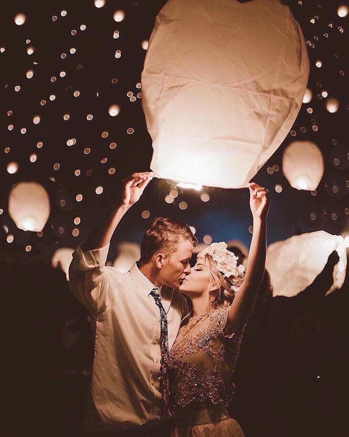 As Melhores Fotos Noturnas de Casamento 12