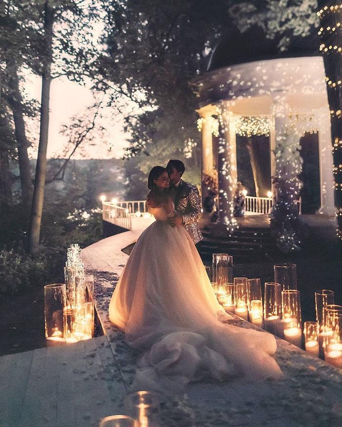 As Melhores Fotos Noturnas de Casamento 13