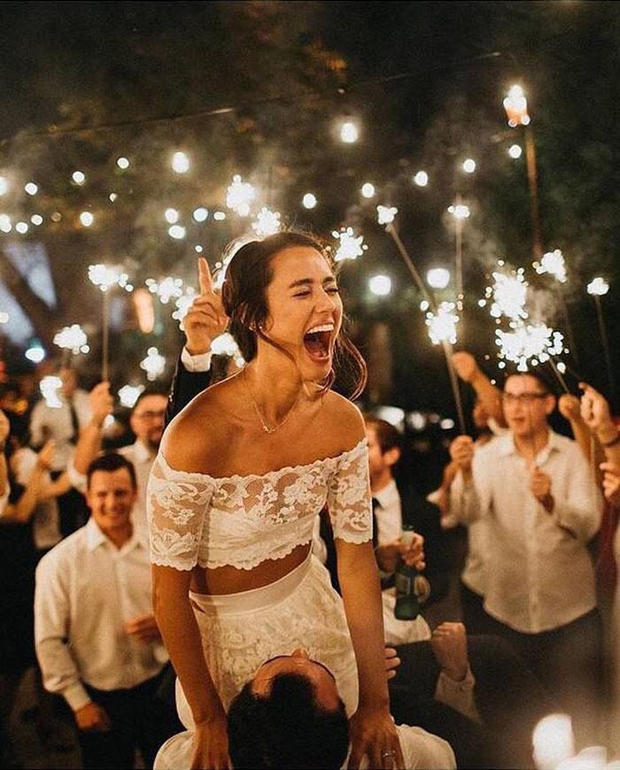 As Melhores Fotos Noturnas de Casamento 14