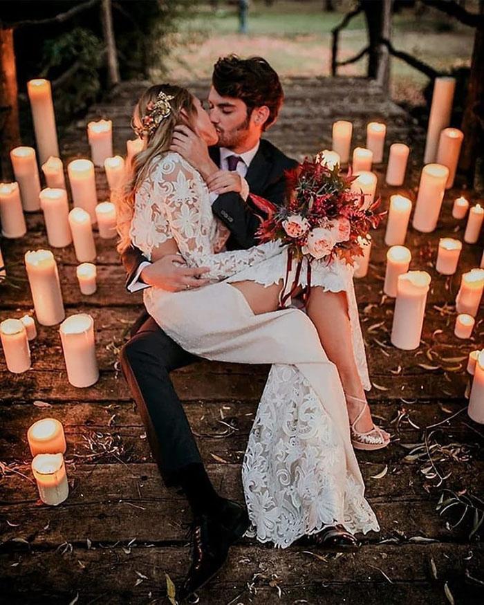 As Melhores Fotos Noturnas de Casamento 4