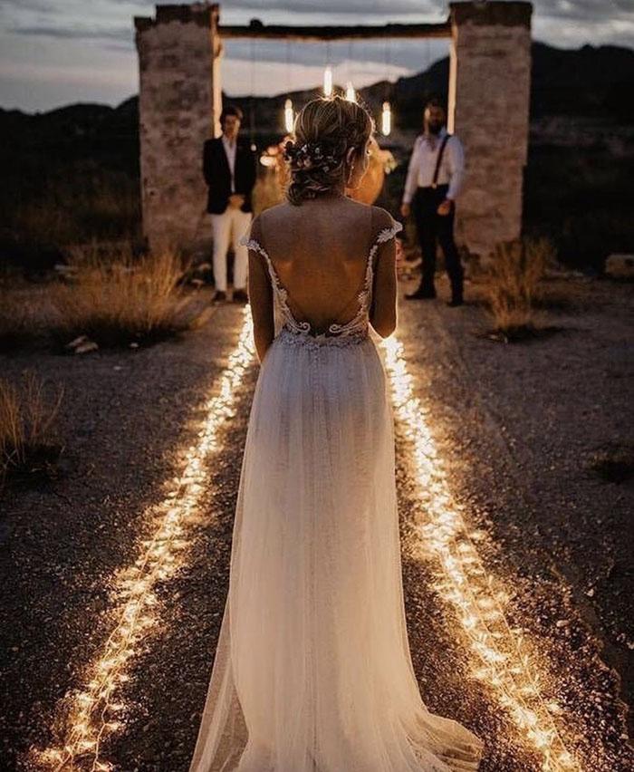 As Melhores Fotos Noturnas de Casamento 11