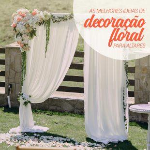 As Melhores Ideias de Altares com Decoração Floral 28