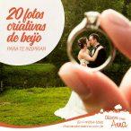 20 Fotos de Beijo Criativas Para te Inspirar 27