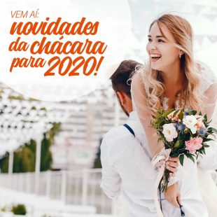 novidades na chácara Dona Anna 2020