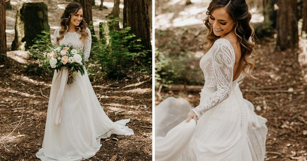 Casar ao Ar Livre: 9 Vestidos de Noiva Para te Inspirar! 3