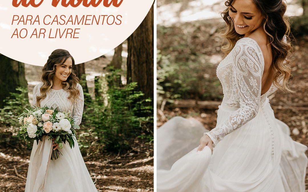 Casar ao Ar Livre: 9 Vestidos de Noiva Para te Inspirar! 2