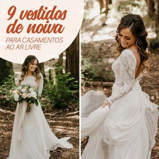 Casar ao Ar Livre: 9 Vestidos de Noiva Para te Inspirar! 20
