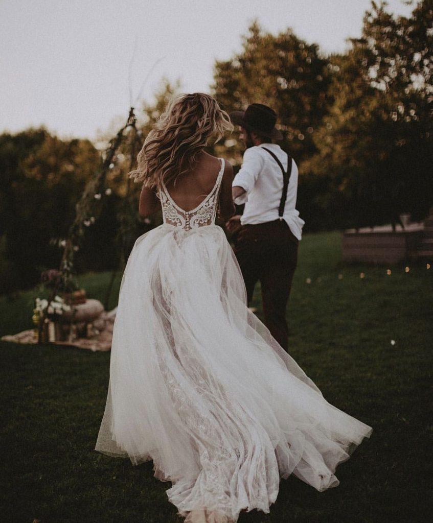 Casar ao Ar Livre: 9 Vestidos de Noiva Para te Inspirar! 4