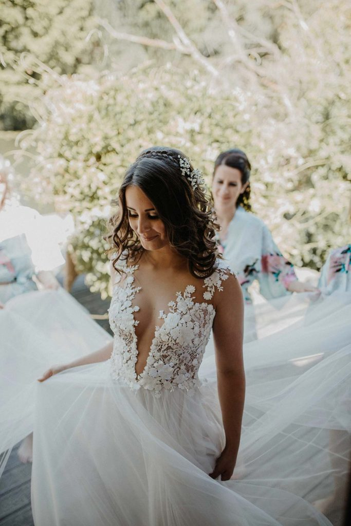 Casar ao Ar Livre: 9 Vestidos de Noiva Para te Inspirar! 6