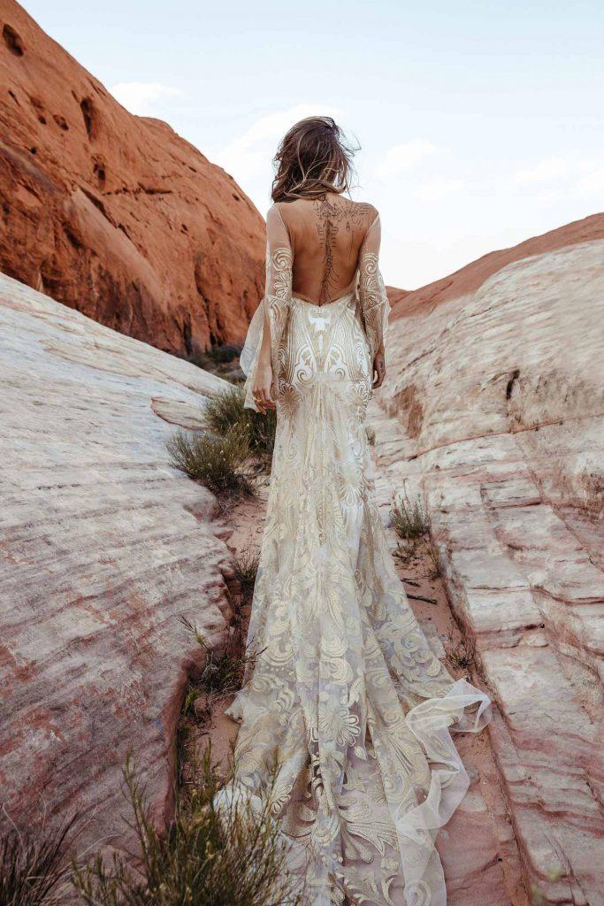 Casar ao Ar Livre: 9 Vestidos de Noiva Para te Inspirar! 12
