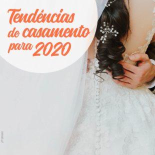 tendências para casamento 2020