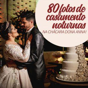 casamento a noite