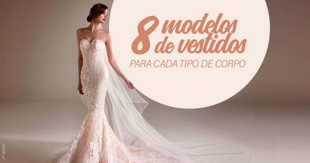 tipos de vestidos de noiva