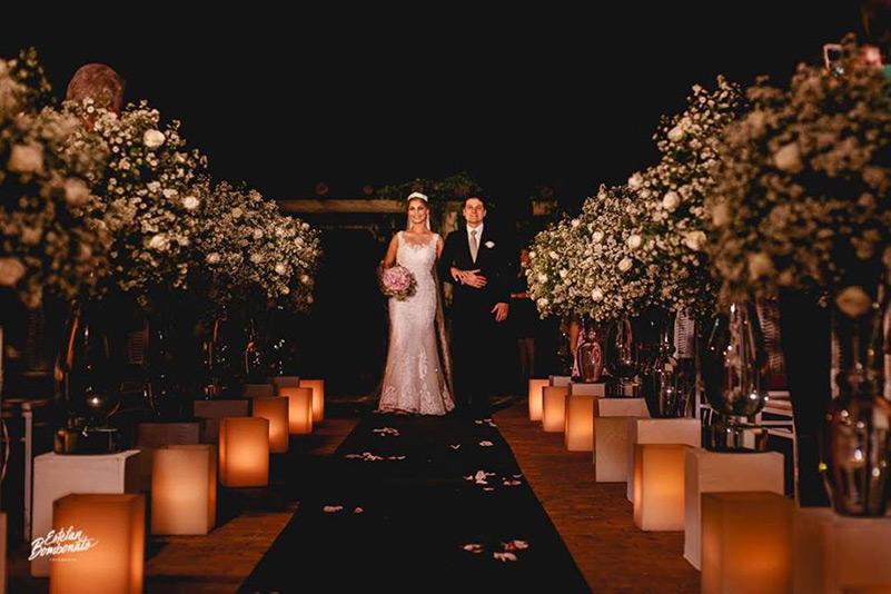 80 fotos de casamento à noite na Chácara Dona Anna! 21