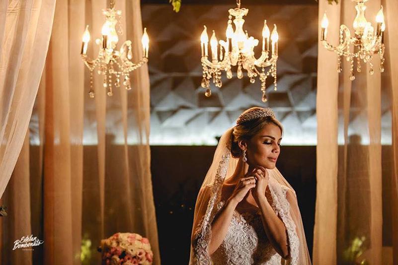 80 fotos de casamento à noite na Chácara Dona Anna! 25