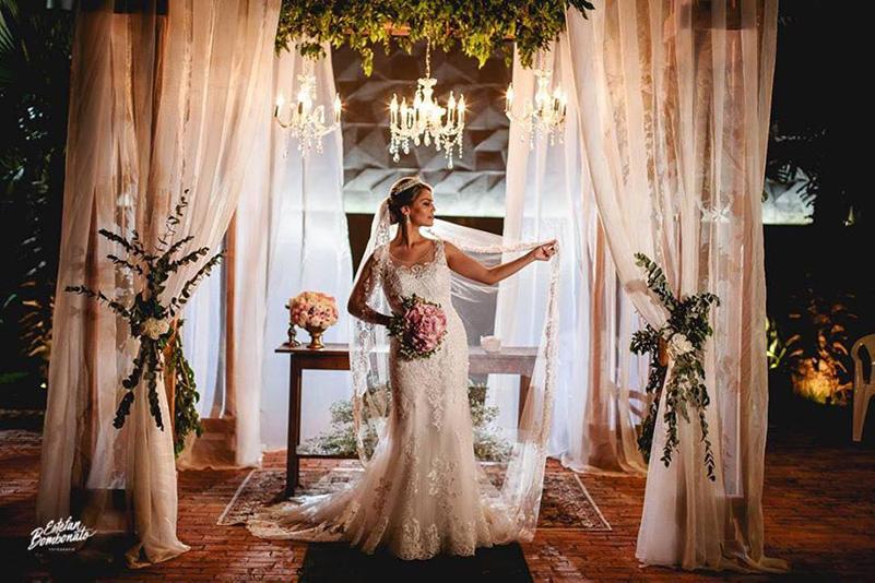 80 fotos de casamento à noite na Chácara Dona Anna! 26