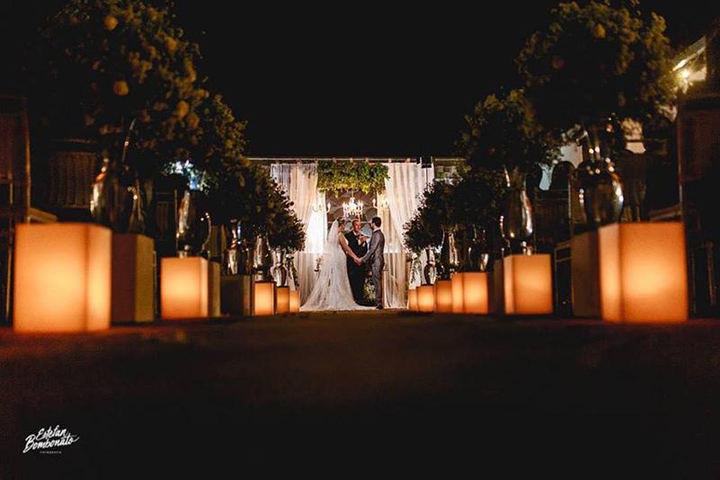 80 fotos de casamento à noite na Chácara Dona Anna! 28