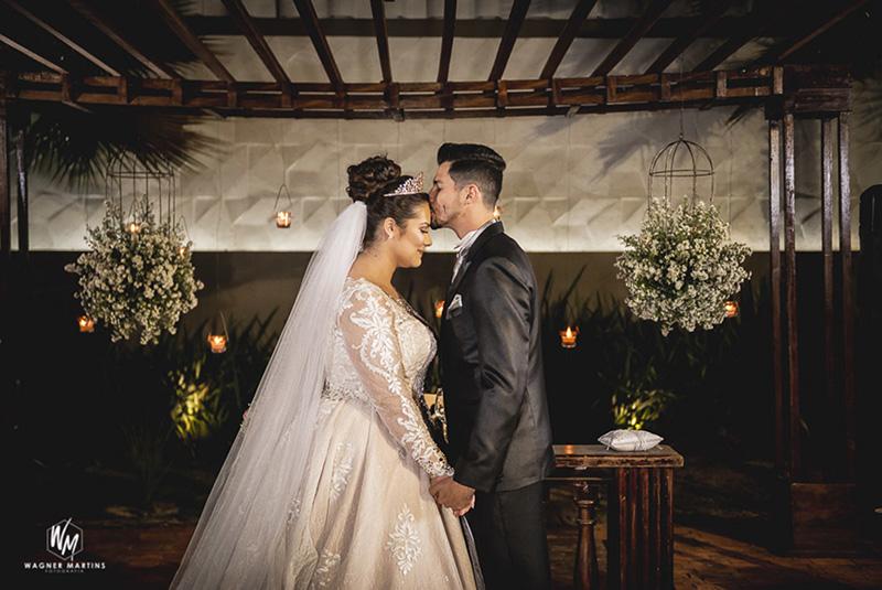 80 fotos de casamento à noite na Chácara Dona Anna! 5