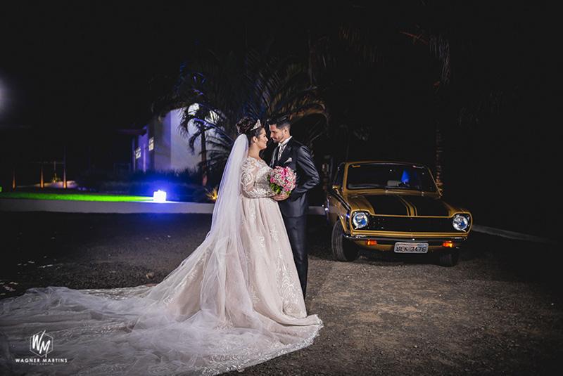 80 fotos de casamento à noite na Chácara Dona Anna! 6