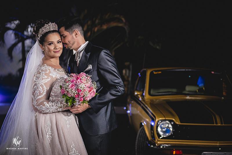 80 fotos de casamento à noite na Chácara Dona Anna! 7