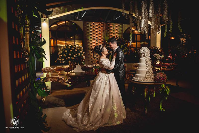 80 fotos de casamento à noite na Chácara Dona Anna! 8
