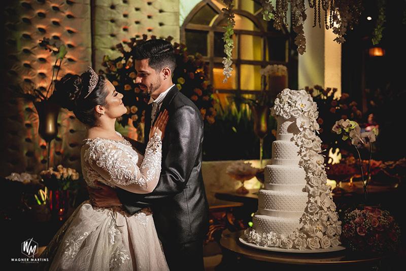 80 fotos de casamento à noite na Chácara Dona Anna! 9