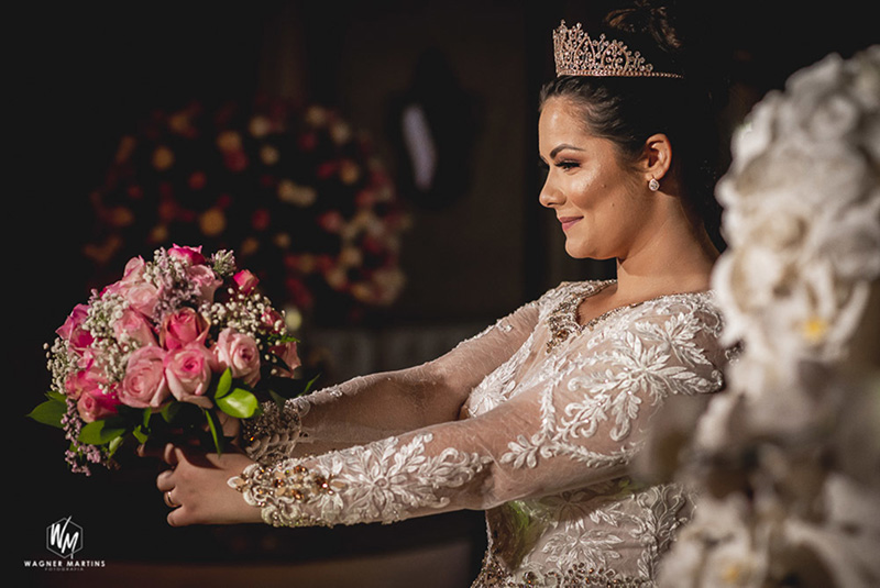80 fotos de casamento à noite na Chácara Dona Anna! 11
