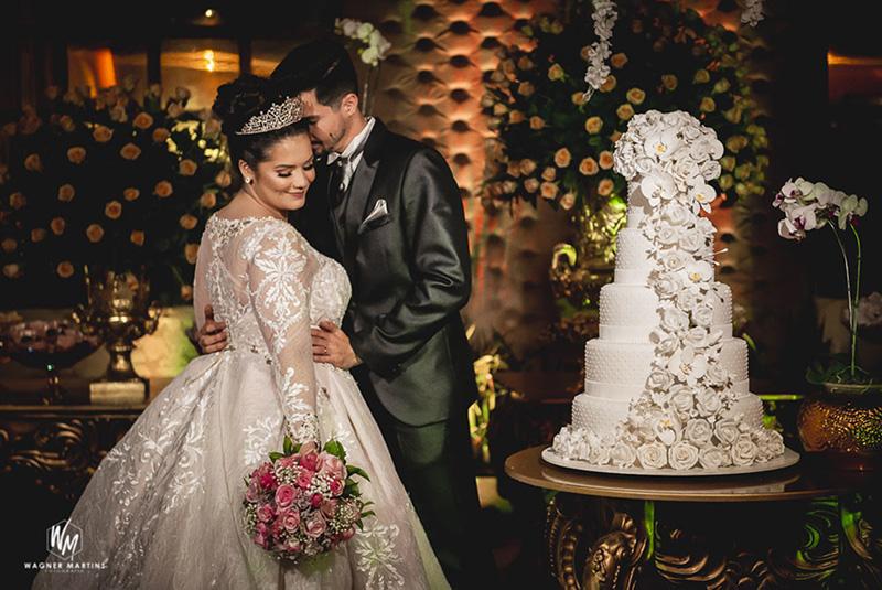 80 fotos de casamento à noite na Chácara Dona Anna! 12