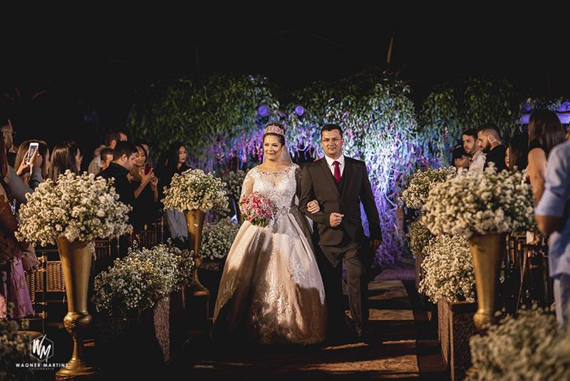 80 fotos de casamento à noite na Chácara Dona Anna! 4