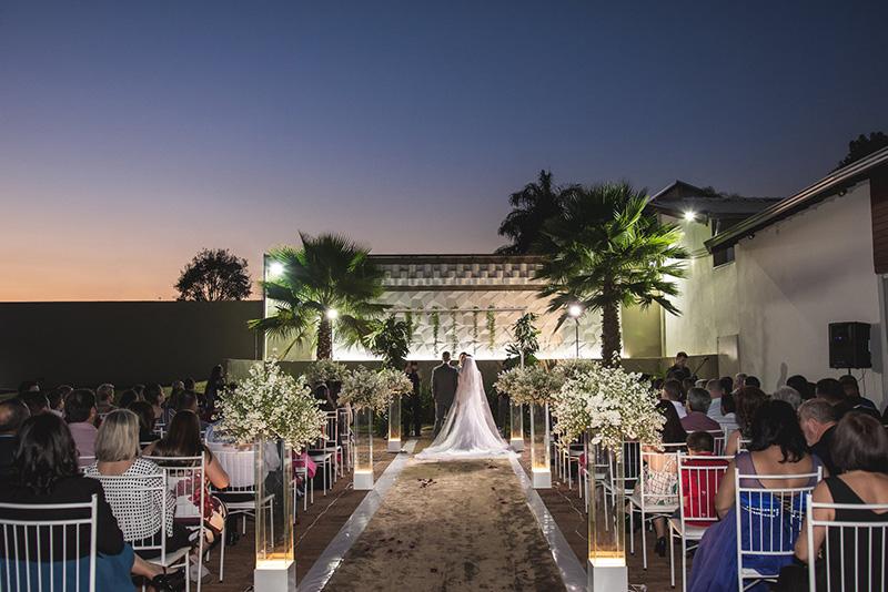 80 fotos de casamento à noite na Chácara Dona Anna! 13