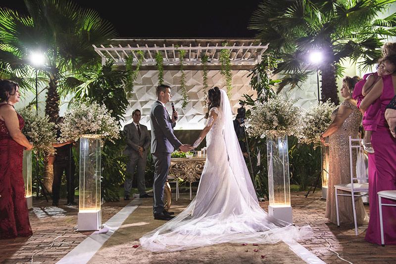80 fotos de casamento à noite na Chácara Dona Anna! 14