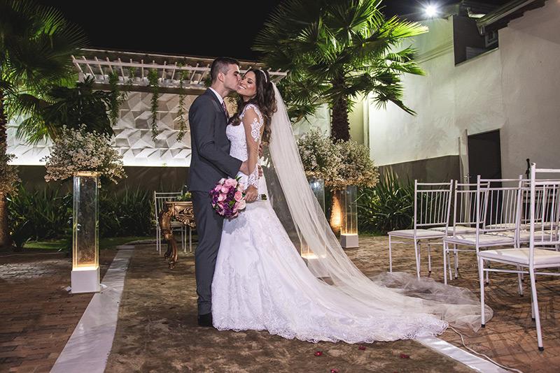 80 fotos de casamento à noite na Chácara Dona Anna! 15