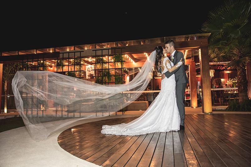 80 fotos de casamento à noite na Chácara Dona Anna! 17