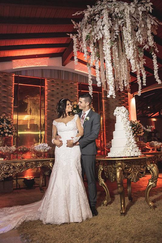 80 fotos de casamento à noite na Chácara Dona Anna! 18
