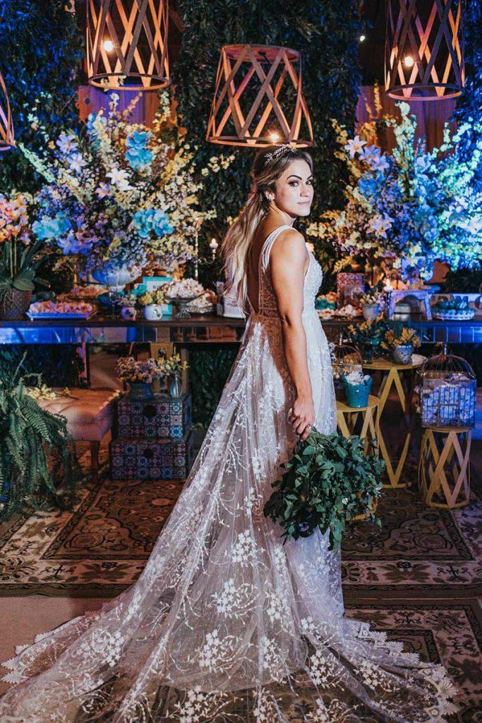 80 fotos de casamento à noite na Chácara Dona Anna! 56