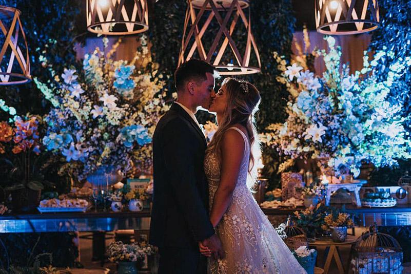 80 fotos de casamento à noite na Chácara Dona Anna! 57