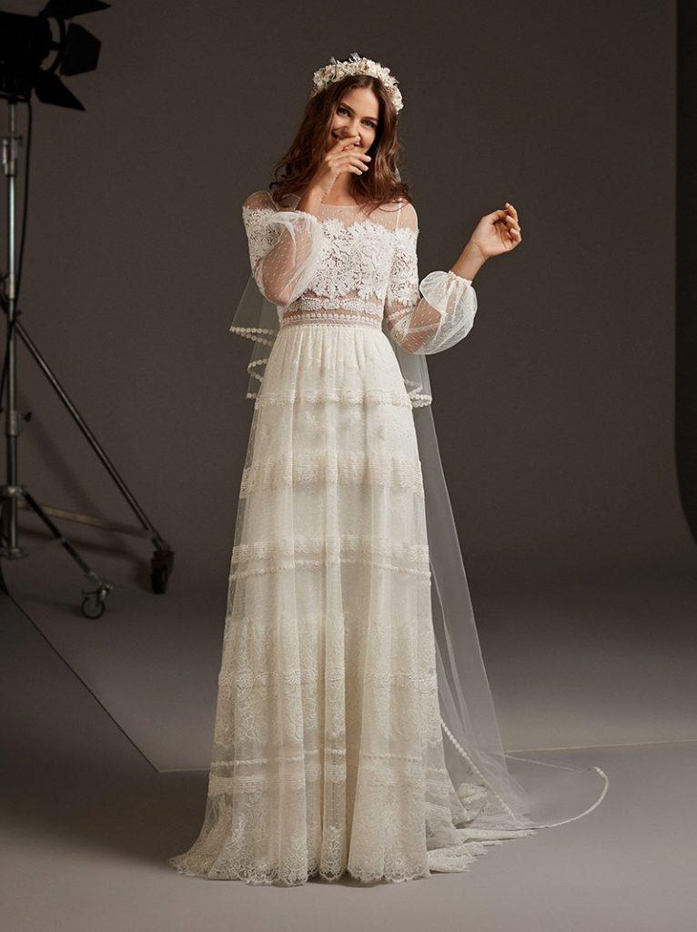 8 Tipos de Vestidos de Noiva Para Cada Corpo! 9