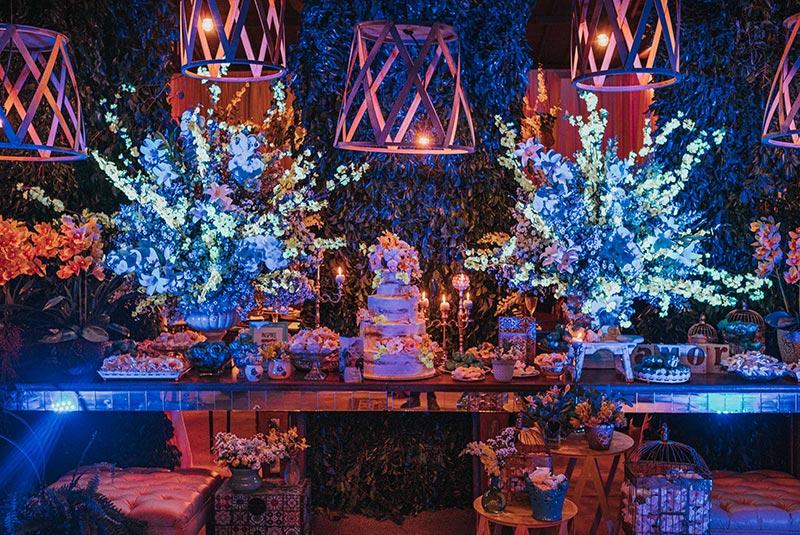 80 fotos de casamento à noite na Chácara Dona Anna! 65