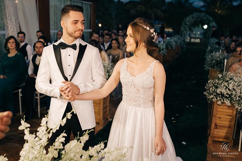 80 fotos de casamento à noite na Chácara Dona Anna! 67