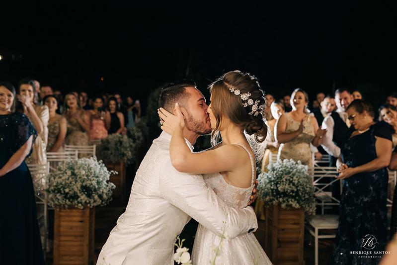 80 fotos de casamento à noite na Chácara Dona Anna! 69