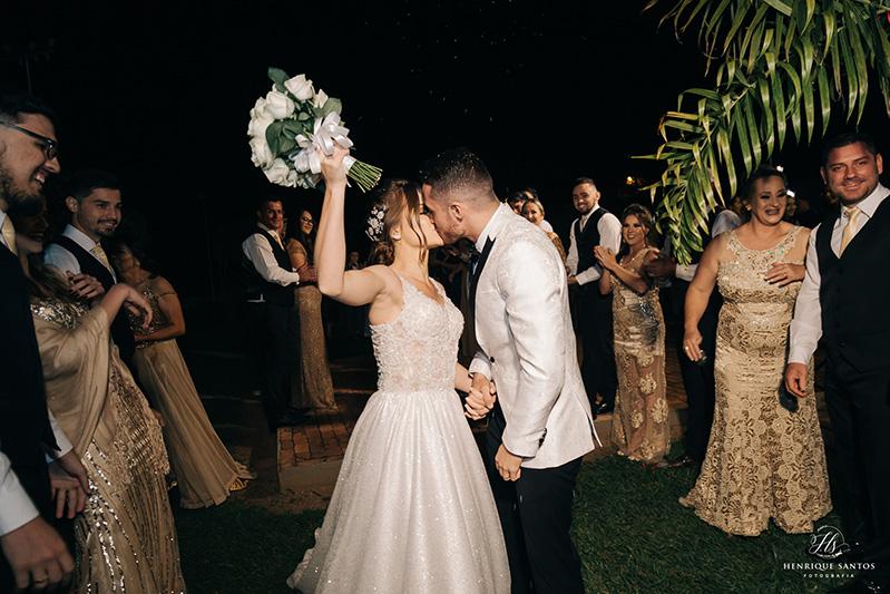 80 fotos de casamento à noite na Chácara Dona Anna! 70